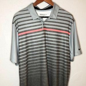 Nike Golf Tour Performance dri-fit striped polo